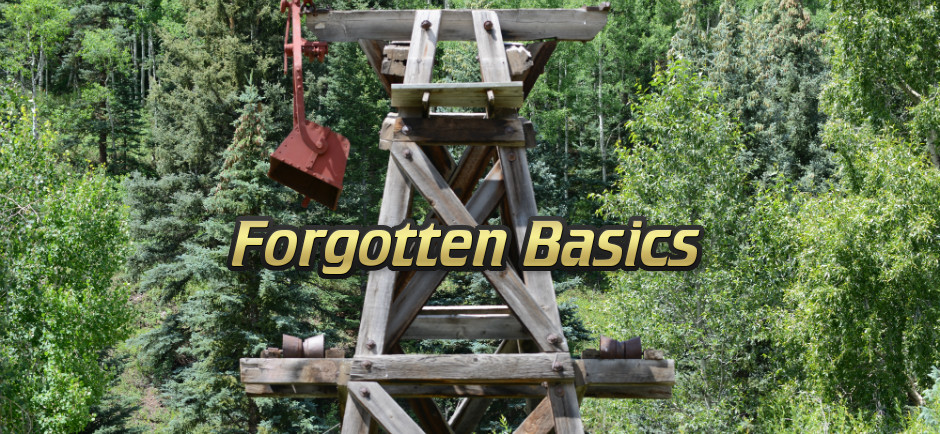 Forgotten Basics - Old Mine Equipment