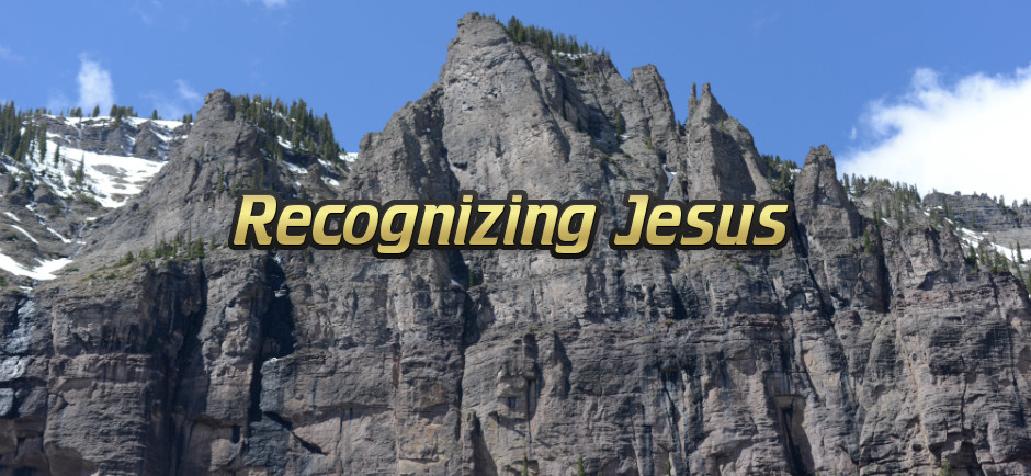Recognizing Jesus - Rock